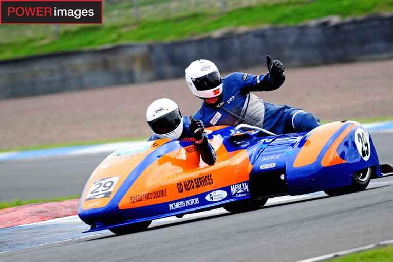 Stephen Kershaw and Rob Wilson - Winners of the Jock Taylor Sidecar Trophy