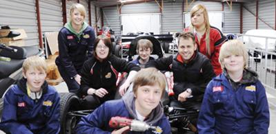 garage teen drive
