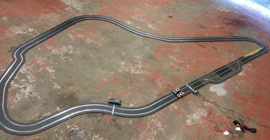 Scalextrix track