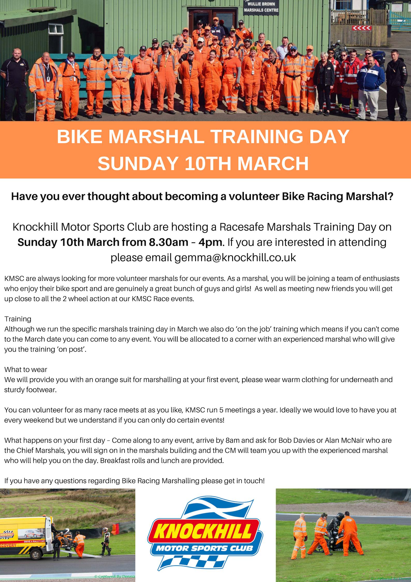 Marshal Training Day